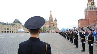 Přípravy na přehlídku ke Dni vítězství v Moskvě