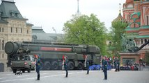 Nácvik vojenské přehlídky na Rudém náměstí