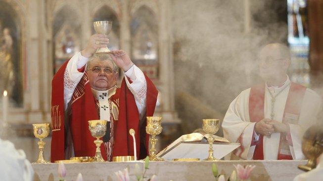 Pražský arcibiskup kardinál Dominik Duka
