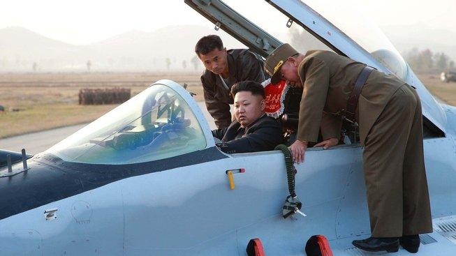 Z létání Kim Čong-un strach evidentně nemá