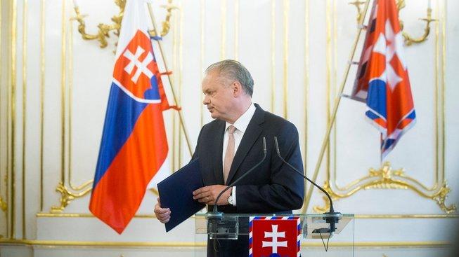 Andrej Kiska příští rok odejde ze slovenské politiky