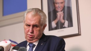 Miloš Zeman, neodpovědný prezident  Jakub Poláček / CNC