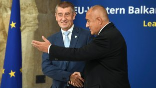 Český premiér Andrej Babiš na summitu EU k otázce integrace balkánských zemí