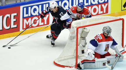 Čeští hokejisté medaili nezískají. Ve čtvrtfinále nestačili na USA