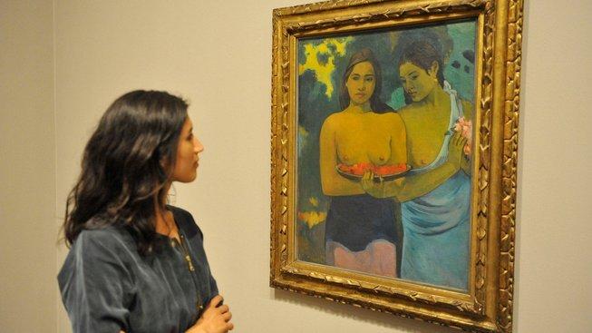 Výstava Gauginových prací v Tate Modern