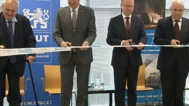 Slavnostní otevření Českého institutu informatiky, robotiky a kybernetiky ČVUT