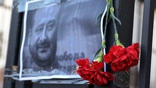 Pieta za zavražděného-nezavražděného novináře Arkadije Babčenka
