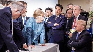 Netrucuj, jako by Angela Merkelová domlouvala Donaldu Trumpovi