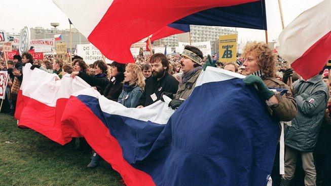 Listopad 1989 v Praze