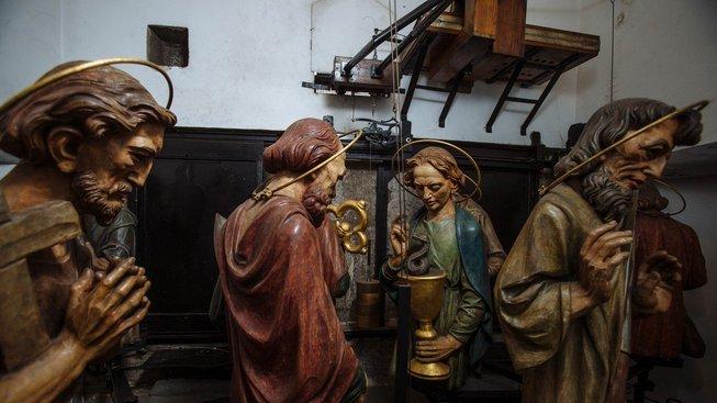 Interiér Pražského orloje