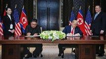 Setkání Donalda Trumpa a Kim Čong-una