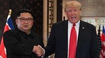 Trump podkuřoval darebáku Kimovi