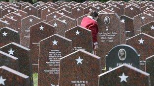 Hroby padlých rudoarmějců v Moskvě