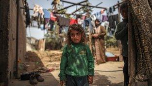 Desetitisíce palestinských rodin v Gaze trpí chudobou