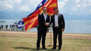Alexis Tsipras a Zoran Zaev podepsali historickou dohodu