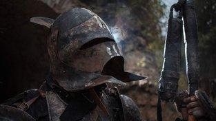 """Skřetí velitel v plné zbroji na """"dřevárně"""" Bitva o Fort"""