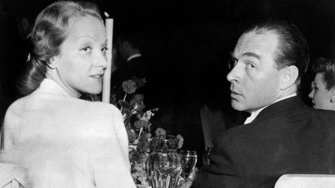 Erich Maria Remarque a Marlene Dietrichová v roce 1939 v Hollywoodu