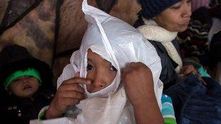 Uprchlíci při mexicko-americké hranici