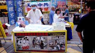 Příznivci meditační techniky čelí pronásledování, čínská velvyslankyně na oficiální pozvání Senátu nereagovala