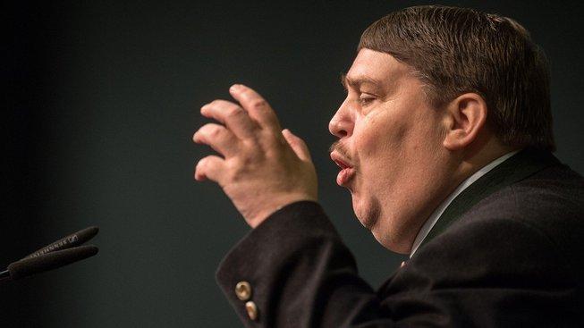 Šéf sudetských Němců Bernd Posselt