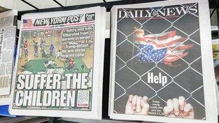 Problém odebraných dětí migrantům hýbe Spojenými státy