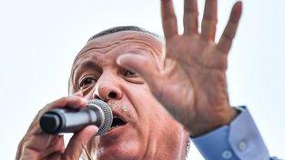 Recep Tayyip Erdogan, prezident Turecka. Spíš ale mocný sultán