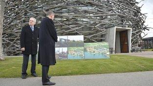 Čapí hnízdo navštívil i prezident Miloš Zeman