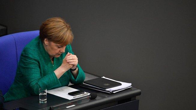 Německá knacléřka Angela Merkelová