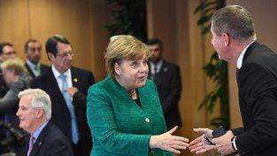 Angela Merkelová a Andrej Babiš