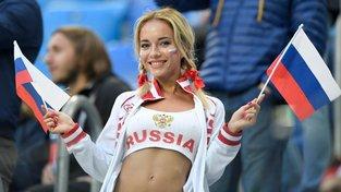 Ruská fotbalová fanynka