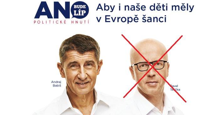 Andrej Babiš a Pavel Telička