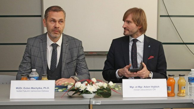 Odvolání tří přednostů ve fakultní nemocnici Ostrava bylo v dikci jejího ředitele Evžena Machytky