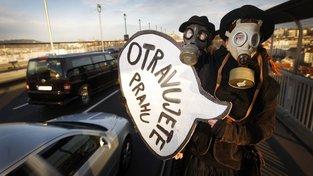 OECD kritizovala Česko za špatné ovzduší (Ilustrační snímek)