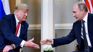 Merkelové bych ruku nepodal, Voloďo. S tebou si ale plácnu