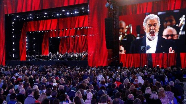 Operní pěvec Plácido Domingo