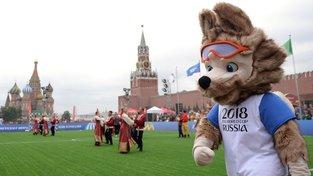 Vlk Zabivaka na Rudém náměstí