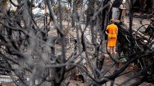 Během ničivých požárů zahynulo 85 lidí