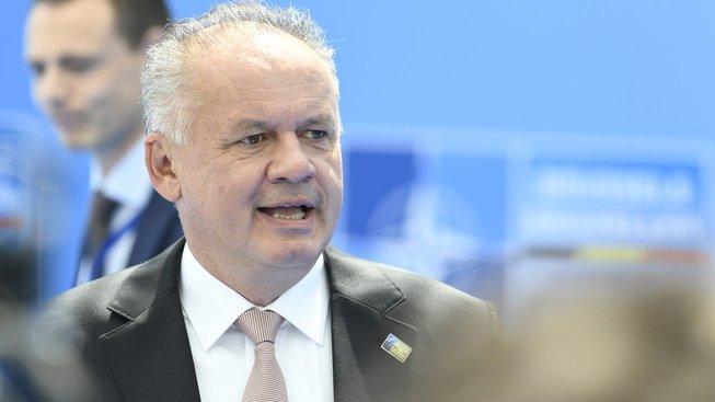 Slovenský prezident Andrej Kiska sepsul současnou ministryni vnitra