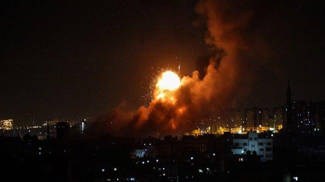 Izraelská protiraketová obrana část útoku z Pásma Gazy zlikvidovala
