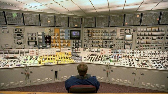 Kontrolor v americké jaderné elektrárně