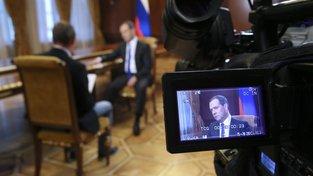 Ruský premiér Dmitrij Medvěděv
