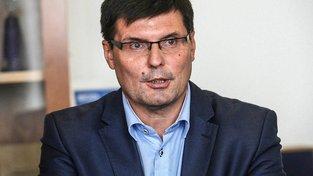 Alois Mačák před třemi lety v době své rezignace
