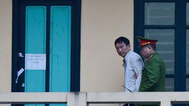 Vietnamský podnikatel, poté co byl odsouzen na doživotí