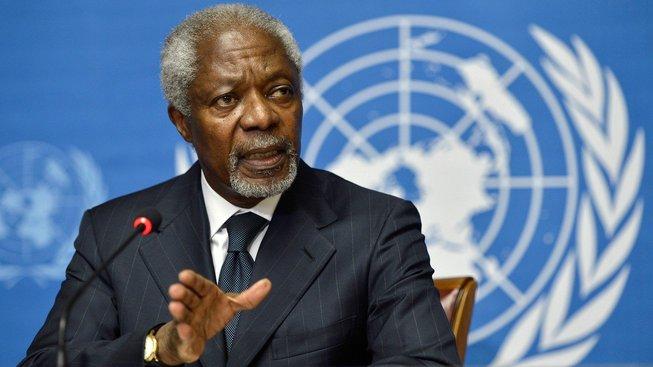 Bývalý generální tajemník OSN Kofi Annan