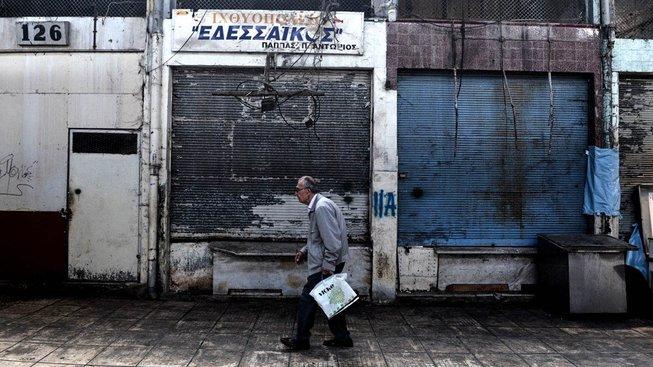 Záchranný program pro Řecko skončil. Z dluhů se ale nevymaní ještě desítky let. Ilustrační snímek