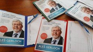 Kontroverzní předvolební kampaň profesora Gerlocha