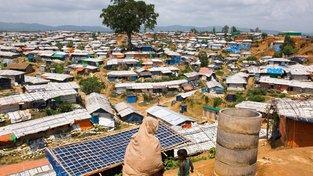 Uprchlický tábor v Bangladéši