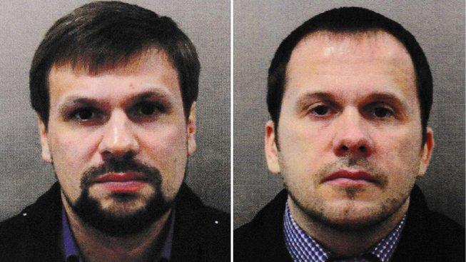 Alexandr Petrov (vpravo) a Ruslan Boširov