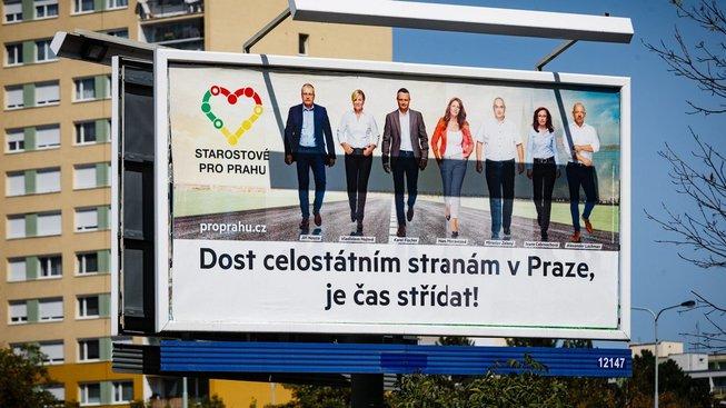 Starostové pro Prahu  mohou podle STAN odvést jejich voliče kvůli podobnému názvu