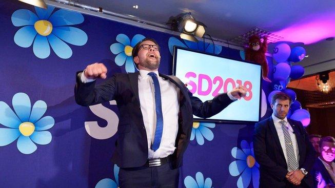 Šéf Švédských demokratů Jimmie Akesson